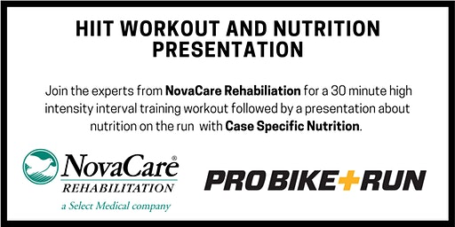 NovaCare HIIT workout and Nutrition Presentation