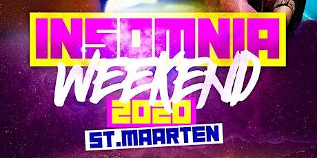INSOMNIA WEEKEND | ST. MAARTEN October 9 - 12, 2020 Columbus Day Weekend tickets