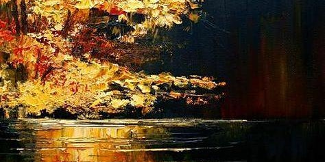 Tree of Gold Oil Painting