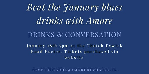 Beat the January blues drinks with Amore