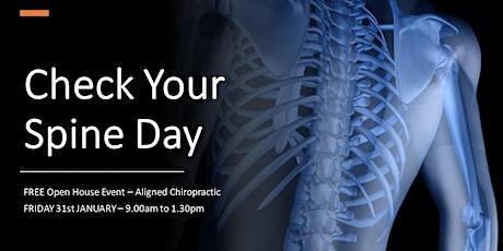 FREE Spine & Posture Checks tickets