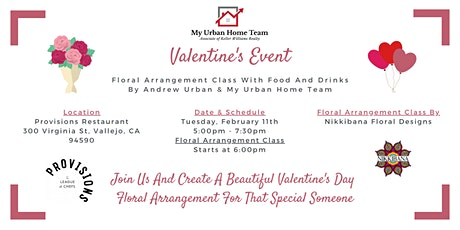 Valentine's Day Event With Andrew Urban & My Urban Home Team tickets