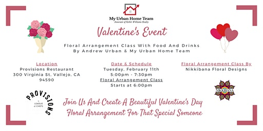 Valentine's Day Event With Andrew Urban & My Urban Home Team