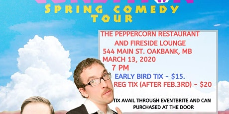 The Human Condition Spring Comedy Tour - Oakbank, MB tickets