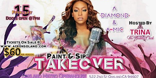 Paint & Sip TAKEOVER - Hosted by TRINA