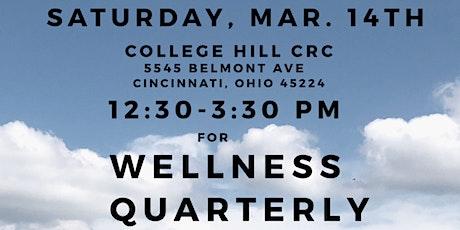 Wellness Quarterly (Volume 1 Issue 2) tickets