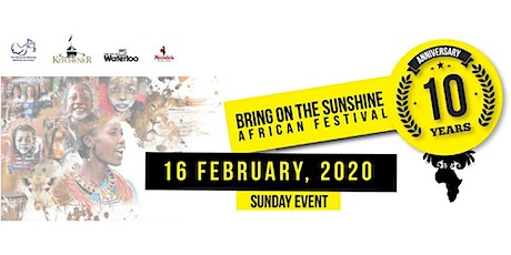 Bring on the Sunshine Festival 2019 tickets