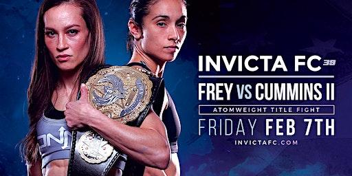 Invicta Fighting Championships 39 Frey vs Cummins