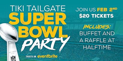 Tiki Tailgate Superbowl Party