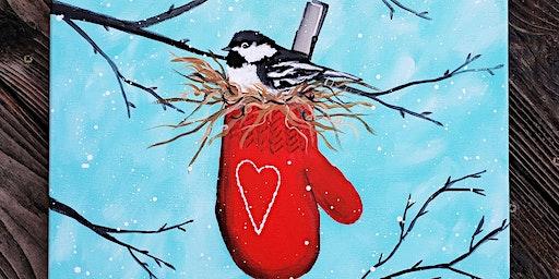 Warm & Cozy Chickadee - $40