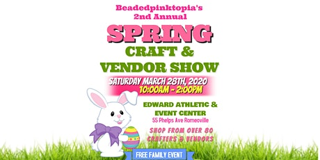 Beadedpinktopia's 2nd Annual Spring Craft Show tickets