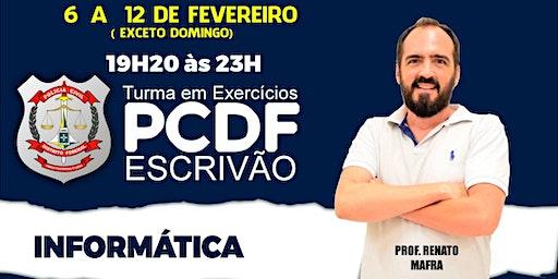 PCDF Escrivão: Informática  - Turma Play