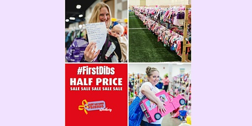 Half-Price #FirstDibs Presale - May 8, 2020