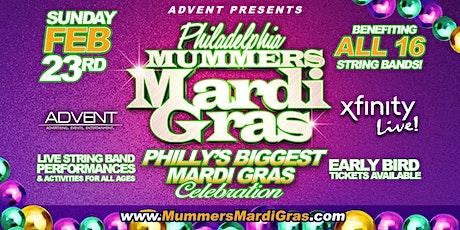 Mummers Mardi Gras at Xfinity Live! 11am-8pm tickets