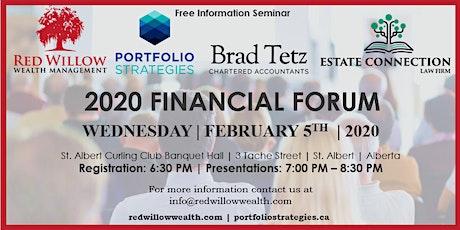 2020 Financial Forum tickets