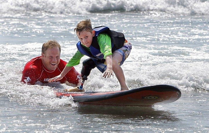 AMPSURF Learn to Surf Clinic - Oregon (2 day event) image