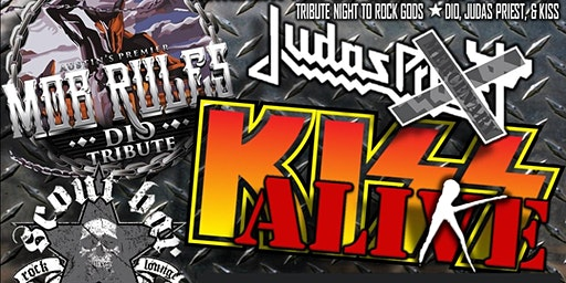 Tribute Night to Rock Gods - KISS / Judas Priest / Dio