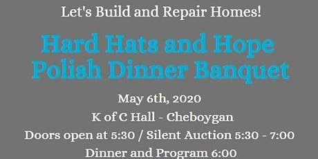 Hard Hats and Hope Banquet tickets