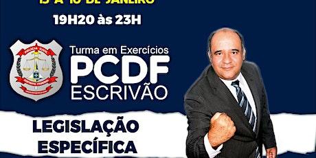 PCDF :Legislação Específica + Lei 8112/90 + 13869/19 + 8429/92 + 9099/95 ingressos