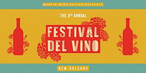 4th Annual Festival Del Vino: New Orleans