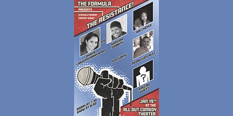 """The Formula Presents: The Resistance!"" tickets"