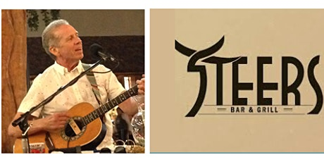 Brian Peterman acoustic music at Steers Bar & Grill tickets