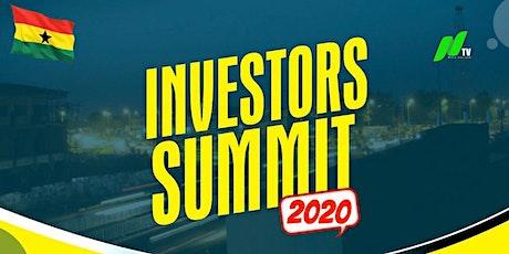 Investors Summit 2020 tickets