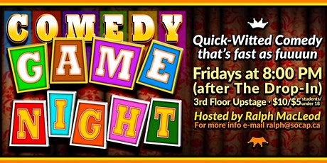 Comedy Game Night tickets