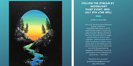 Follow the stream Paint event at the Well tickets