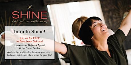 FREE Intro to Shine tickets