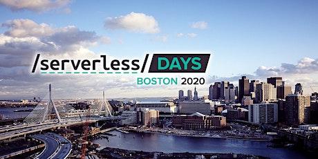 ServerlessDays Boston 2020 tickets