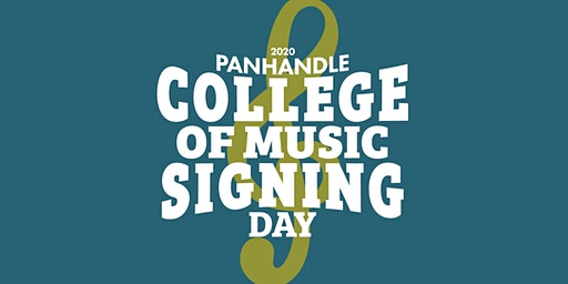 2020 Panhandle College of Music Signing Day