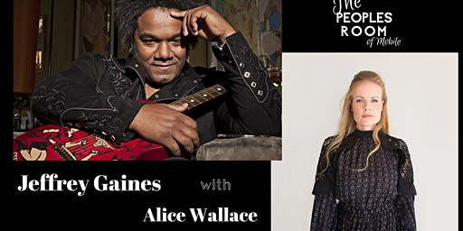 An Evening with Jeffrey Gaines with Alice Wallace