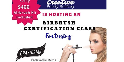 SOLD OUT!! Airbrush Certification Class