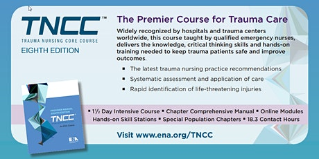 TNCC v8 Provider 2-Day Course 7/30/2020 - 7/31/2020 tickets