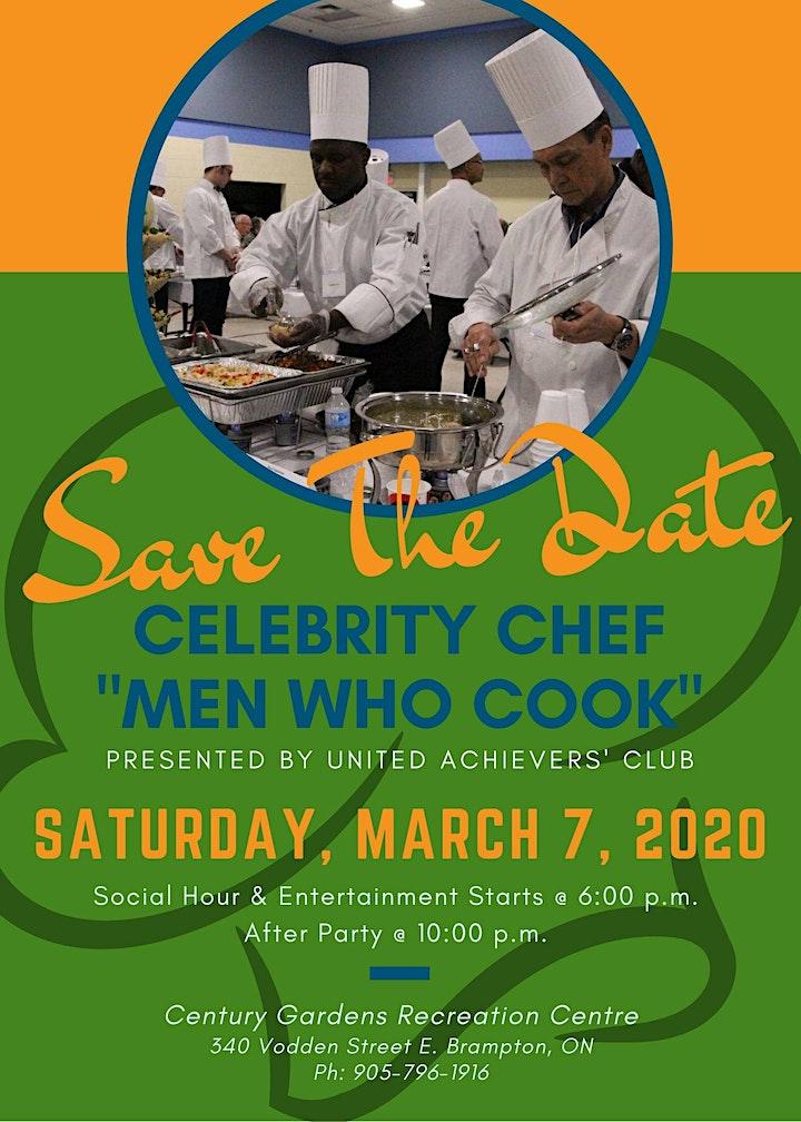 Celebrity Chef - Men Who Cook! image