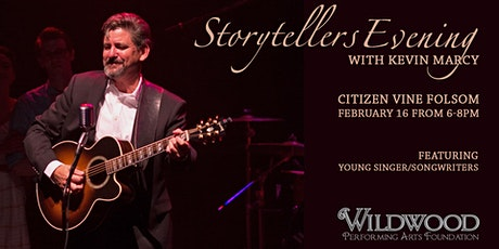Storytellers Evening with Kevin Marcy tickets