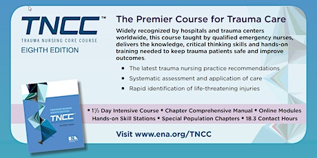 TNCC v8 Provider 2-Day Course 11/16/2020 - 11/17/2020 tickets