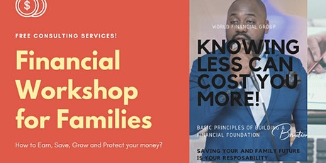 LEARN HOW MONEY WORKS - FREE FINANCIAL EDUCATION! tickets
