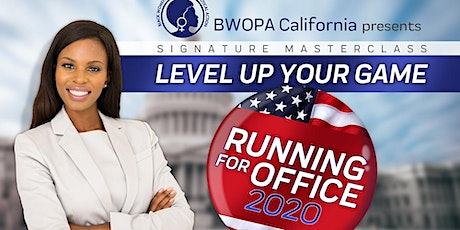 BWOPA Level Up  Your Game - Running for Office tickets