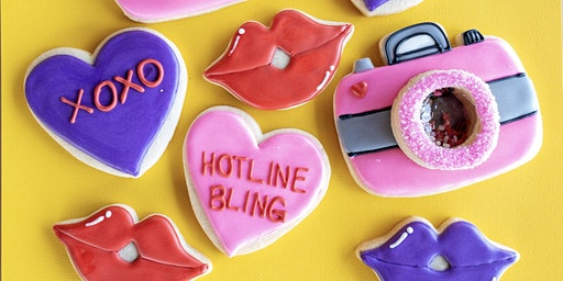3D Valentine's Day Sugar Cookie Class I - ALL NEW