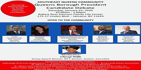 Southeast Queens Community - Queens Borough President Candidate Debate tickets