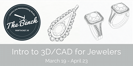 Introduction to 3D/CAD for Jewelers tickets