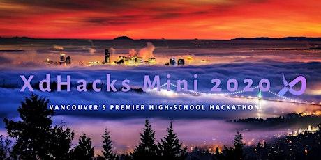 XdHacks Mini 2020 tickets