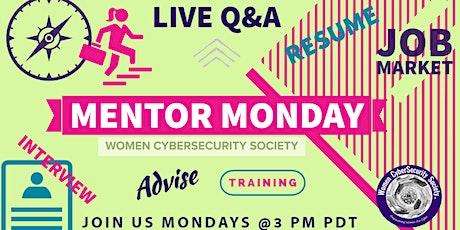 Mentor Monday tickets