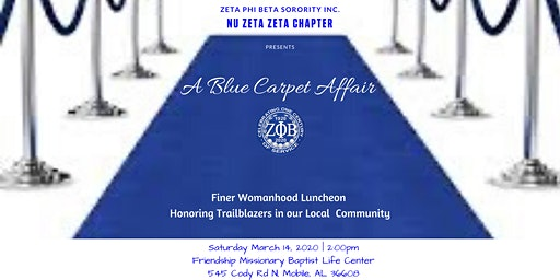 Zeta Phi Beta Sorority Inc, Nu Zeta Zeta Chapter Finer Womanhood Luncheon