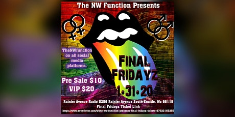 The NW Function presents Final Fridayz tickets