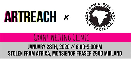 ArtReach Grant Writing Clinic at Stolen From Africa tickets