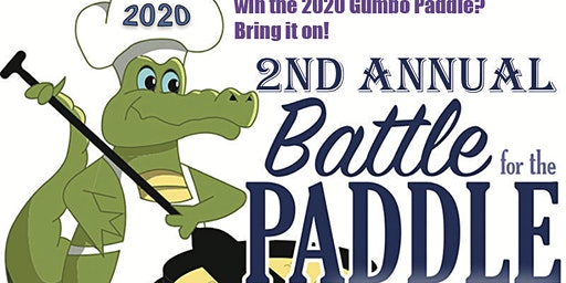 **TEAM REGISTRY LINK ** 2nd Annual Battle for the Paddle Gumbo Cook-off