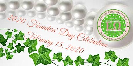 Epsilon Omega - 2020 Founders' Day Celebration tickets